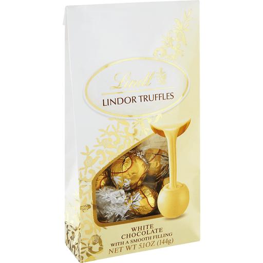 Lindt Lindor Truffles, White Chocolate