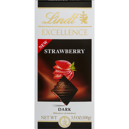 Lindt Excellence Dark Chocolate, Strawberry