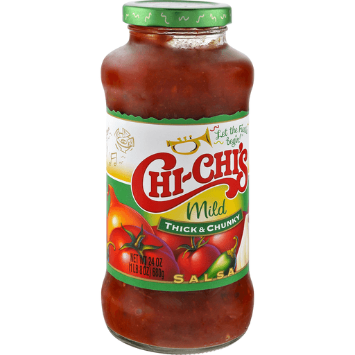 Chi Chis Salsa, Thick & Chunky, Mild