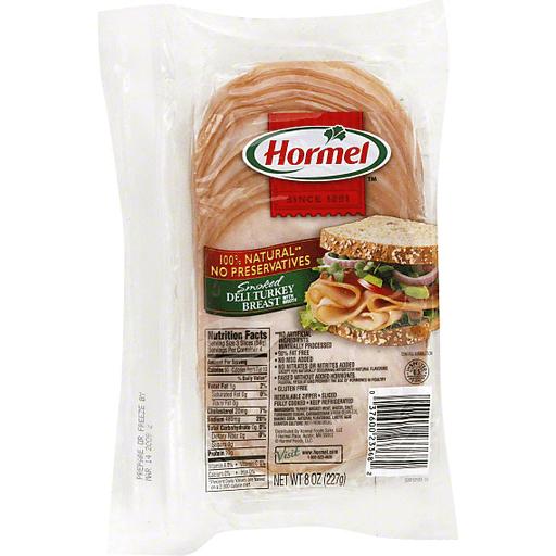 Hormel Turkey Breast, Deli, Smoked