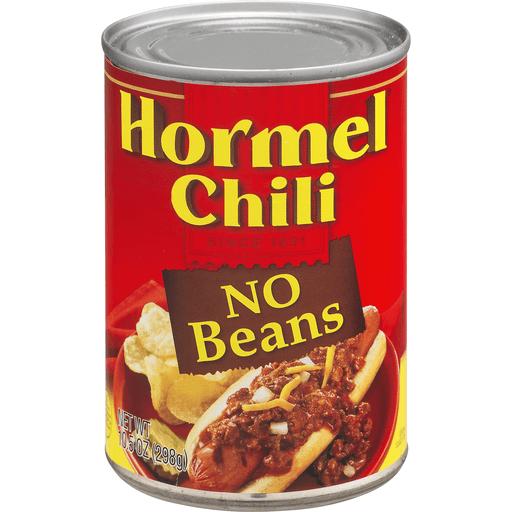 Hormel Chili, No Beans