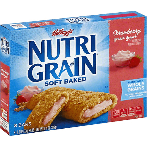 Nutri Grain Cereal Bars, Strawberry