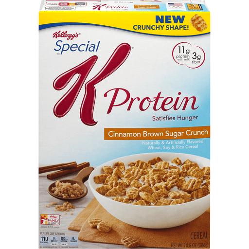 Special K Cereal, Cinnamon Brown Sugar Crunch