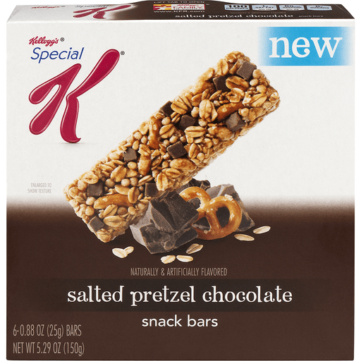 Special K Snack Bars, Chewy, Salted Pretzel Chocolate