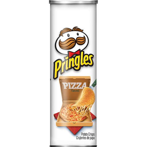 Pringles Potato Crisps, Pizza Flavored
