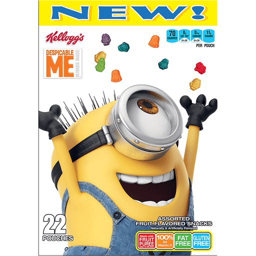 Kellogg's® Despicable Me Minion Made™ Assorted Fruit Flavored Snacks 22 ct Box