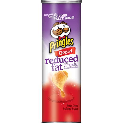Pringles Potato Crisps, Reduced Fat, Original