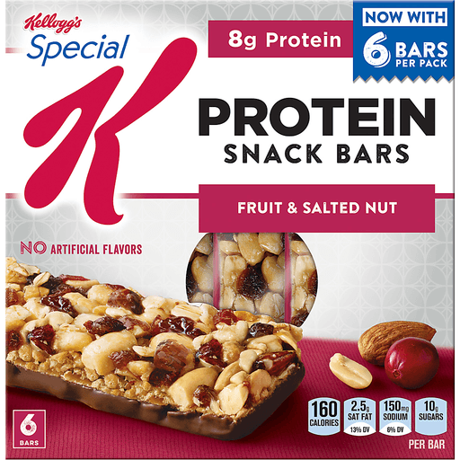 Special K Snack Bars, Protein, Fruit & Salad Nut