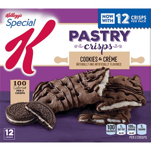 Special K Pastry Crisps, Cookies & Creme