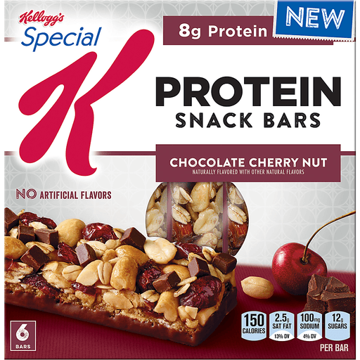Special K Snack Bars, Protein, Chocolate Cherry Nut