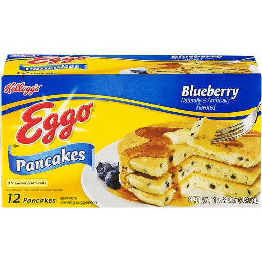 Kellogg's® Eggo® Blueberry Pancakes 14.8 oz. Box