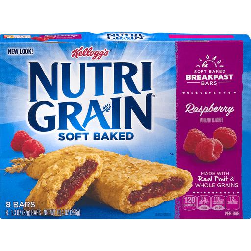 Nutri Grain Soft Baked Breakfast Bars, Raspberry