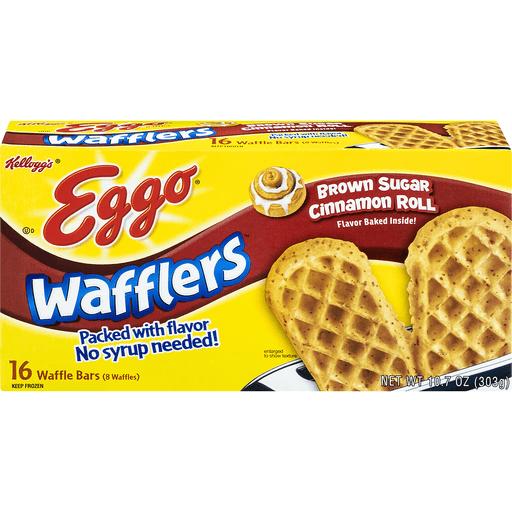 Eggo Wafflers Waffle Bars, Brown Sugar Cinnamon Roll