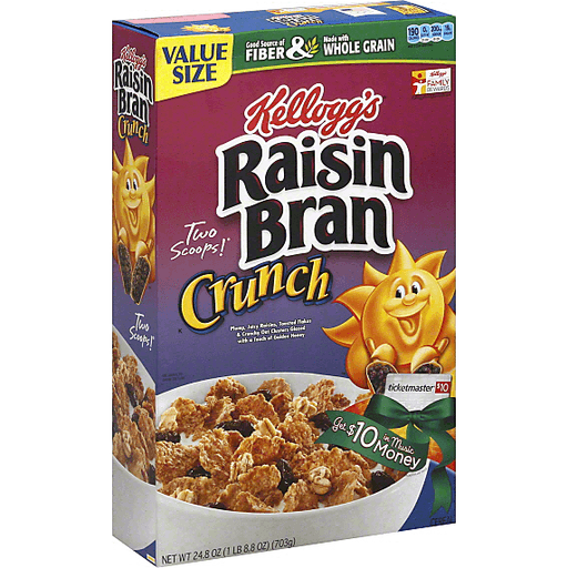 Image result for raisin bran crunch