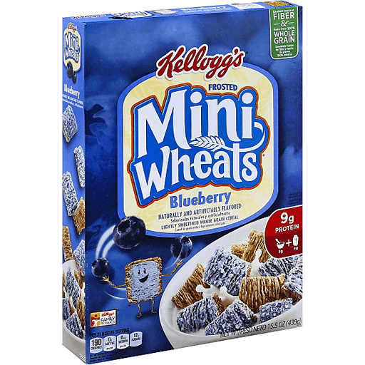 Mini Wheats Cereal, Blueberry | Cereal
