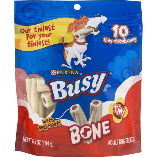Purina Busy Bone Adult Dog Treats Tiny Chewbones - 10 CT
