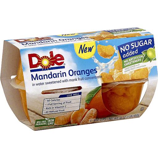 Dole Mandarin Oranges No Sugar Added