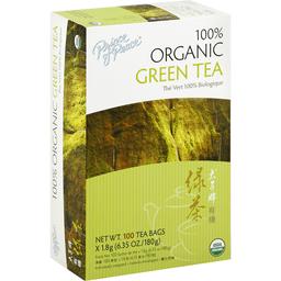 Prince of Peace Organic Green Tea - 100 Tea Bags | Rubys
