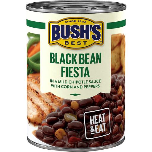 Bush's Best® Black Bean Fiesta Savory Beans 15.5 oz. Can