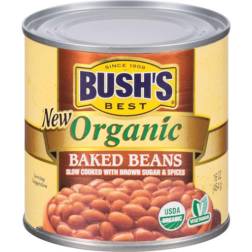 Bushs Best Baked Beans, Organic