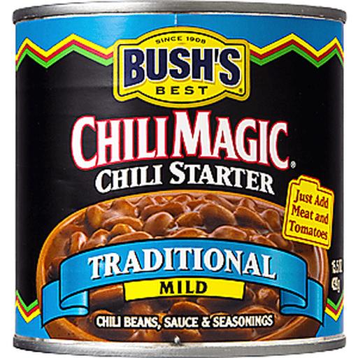 Bushs Best Chili Magic Chili Starter, Traditional, Mild