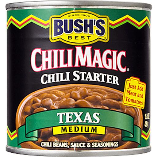Bushs Best Chili Magic Chili Starter, Texas, Medium