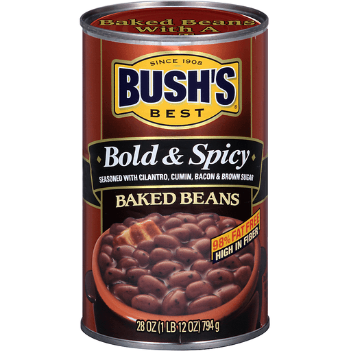 BUSH'S BEST Bold & Spicy Baked Beans