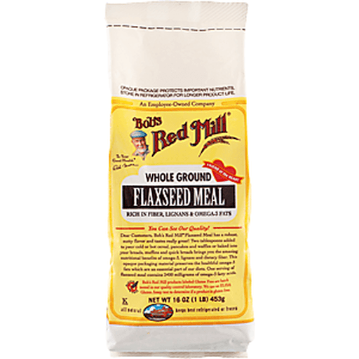 Bobs Red Mill Flaxseed Meal, Whole Ground