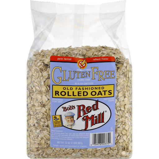 Bobs Red Mill Gluten Free Rolled Oats, Old Fashioned