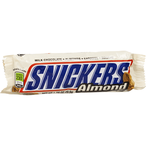 Snickers Candy Bar, Almond