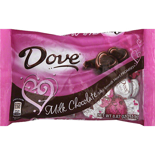 Dove Milk Chocolate Hearts | Seasonal