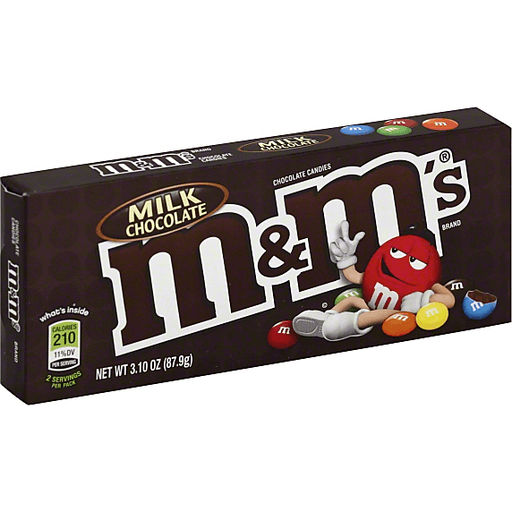 M&M's Milk Chocolate Chocolate Candies