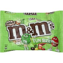M U0026 M Chocolate Candies, Crispy, Fun Size