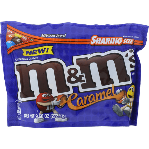 M & M Chocolate Candies, Caramel, Sharing Size