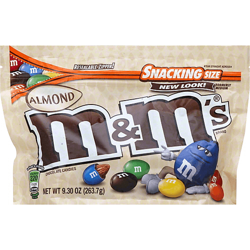 M & M Chocolate Candies, Almond, Sharing Size