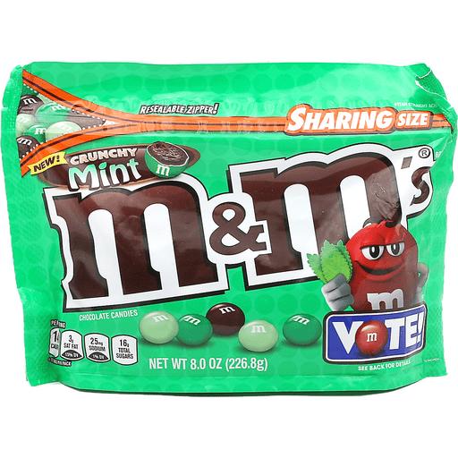 M&Ms Crunchy Mint