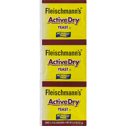 Fleischmann's ActiveDry Yeast Original - 3 CT