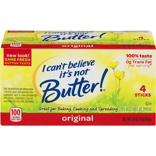I Cant Believe Its Not Butter Vegetable Oil Spread, 79%, Original