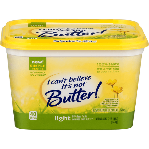 I Can't Believe It's Not Butter Vegetable Oil Spread Light
