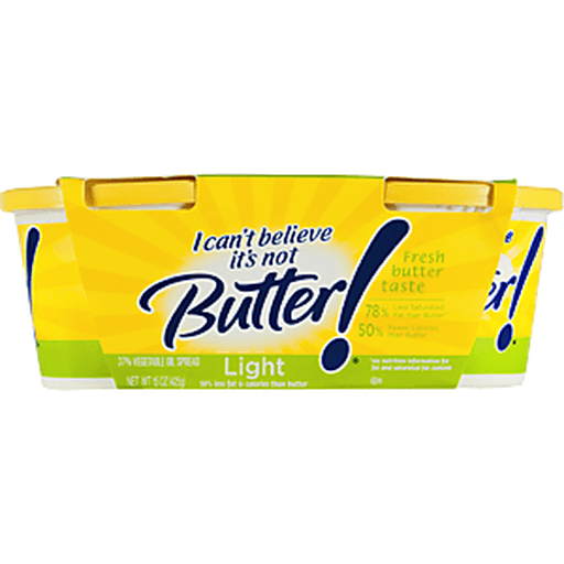 I Can't Believe It's Not Butter! Vegetable Oil Spread Light Twin Pack - 2 PK