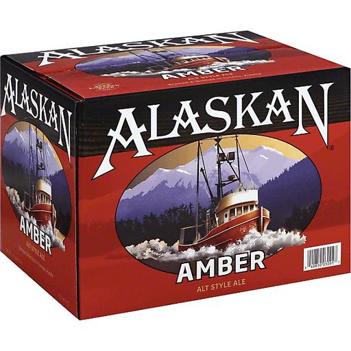 Alaskan Beer, Alt Style Ale, Amber