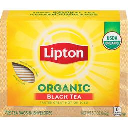 Lipton Tea, Orgainic Black Tea