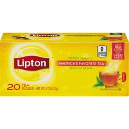 Lipton Tea Bags 100% Natural