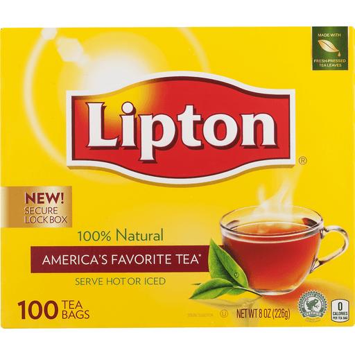 Lipton Tea, Bags