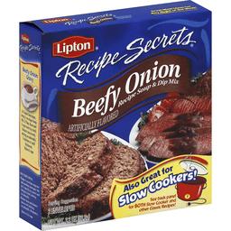 Lipton Recipe Secrets Recipe Soup Dip Mix Beefy Onion