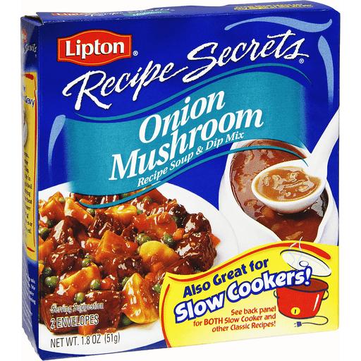 Lipton Recipe Secrets Recipe Soup & Dip Mix, Onion Mushroom
