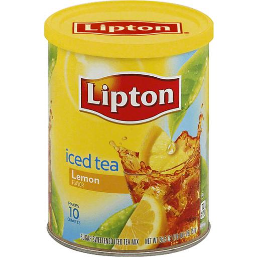 Lipton Lemon Iced Tea | Foodland Super