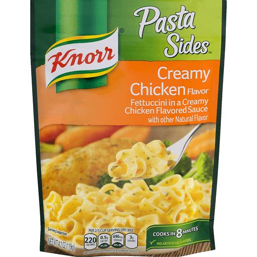 Knorr Pasta Sides Fettuccini, Creamy Chicken Flavor