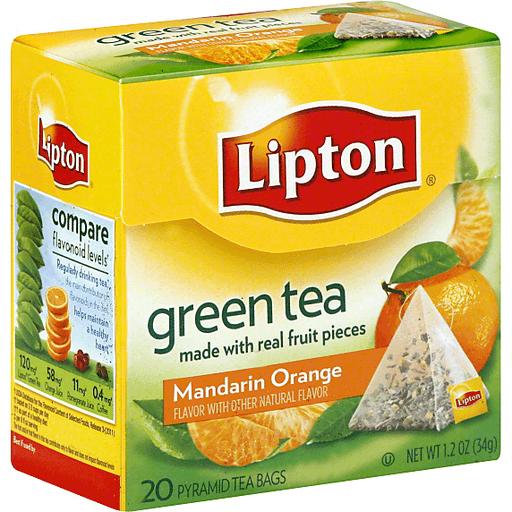 Lipton Green Tea Pyramid Tea Bags
