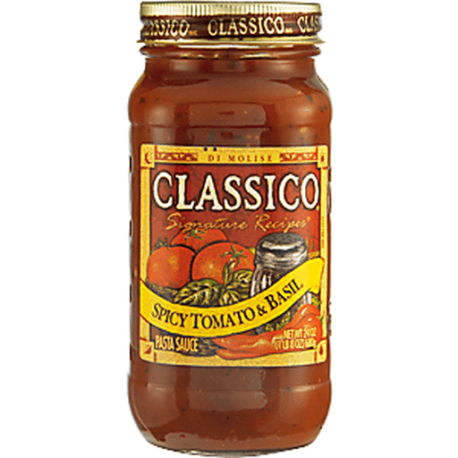 Classico Pasta Sauce, Spicy Tomato & Basil